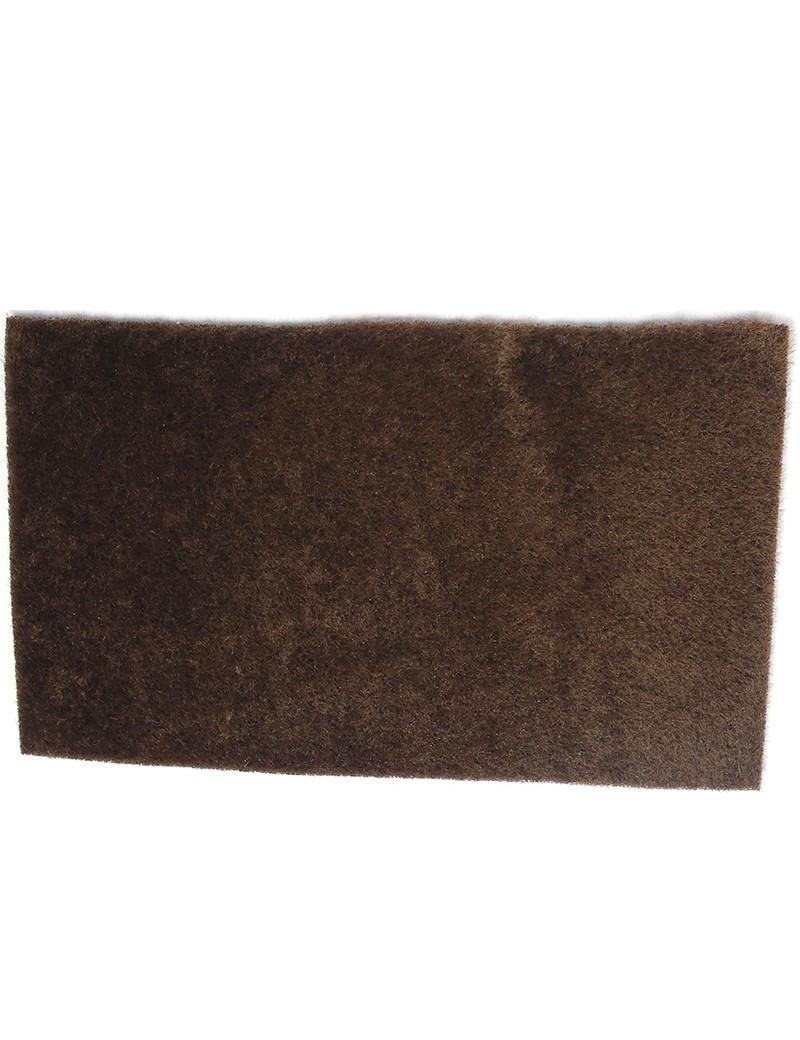 Furry foam gris marron-20