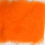 Dubbing de lapin orange fluo-07