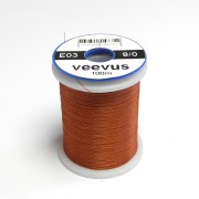 Fil de montage Veevus 8/0 brun roux-03