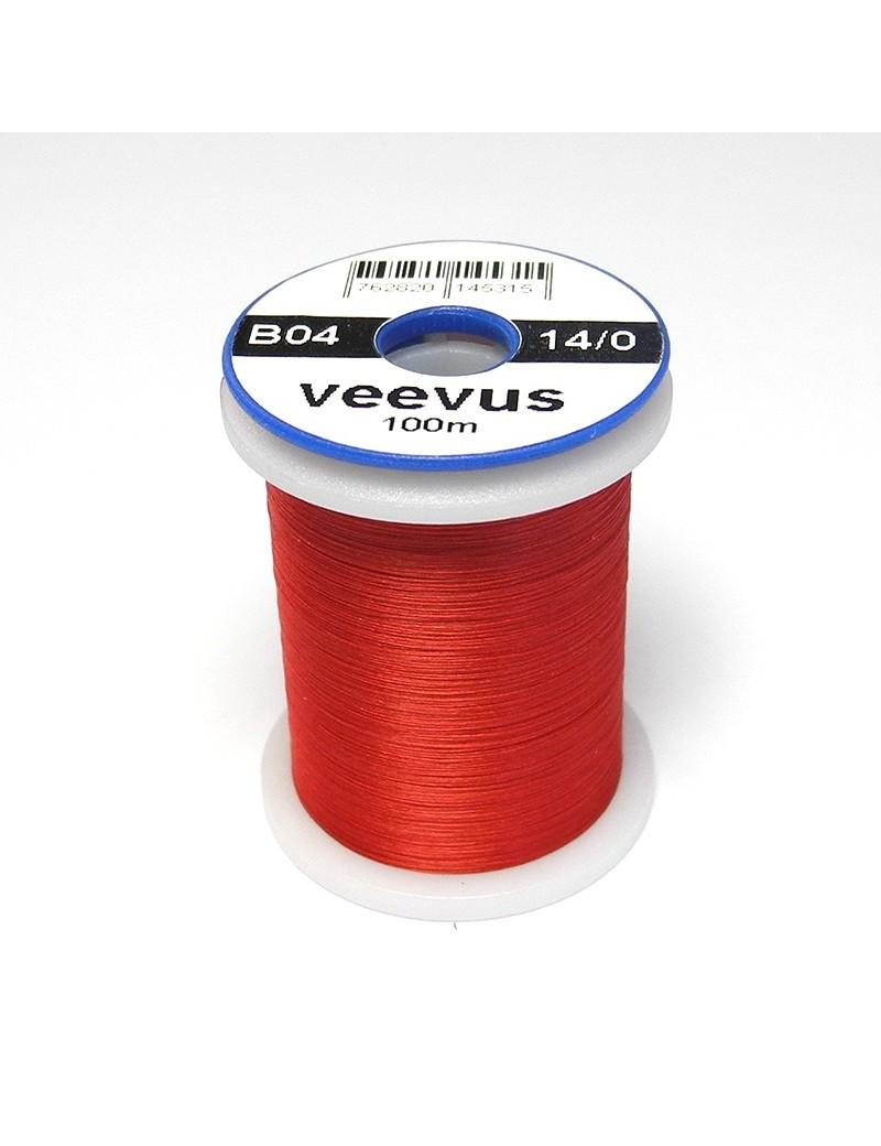 Fil de montage Veevus 14/0 rouge-04