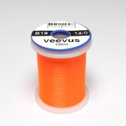 Fil de montage Veevus 14/0 orange fluo-18