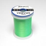 Fil de montage Veevus 14/0 vert fluo-19
