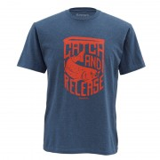 T-shirt SIMMS Catch & Release Navy Heather