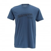 T-shirt SIMMS Working Waders Navy
