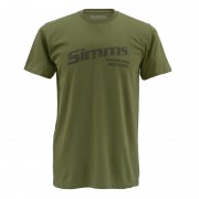 T-shirt SIMMS Working Waders olive