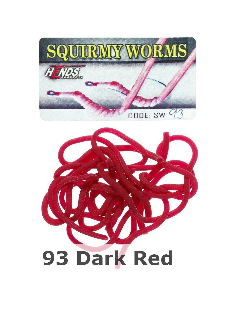 Worm body/corps de ver rouge sang