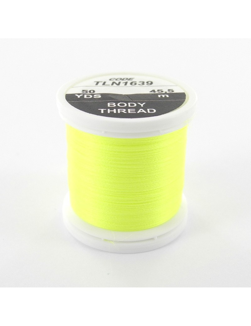 Soie Floss jaune fluo-1639