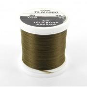 Soie Floss brun olive foncé-1060