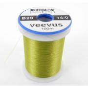 Fil de montage Veevus 14/0 olive clair-20