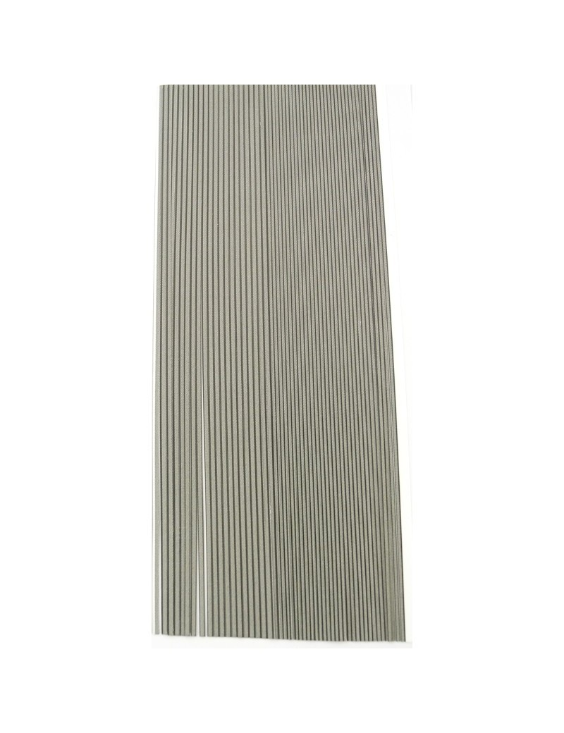 Quills synthétiques Hareline GRIS ADAMS