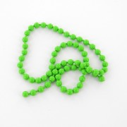 Chainette lavabo vert fluo