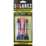 Vernis-résine MULTIPACK solarez - 3 x 5 g
