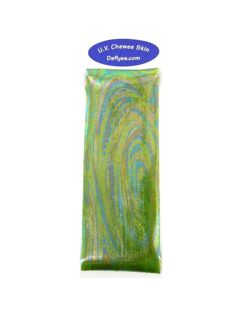 UV chewee skin caddis green