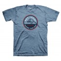 TEE SHIRT SIMMS BUY LOCAL  BLUE