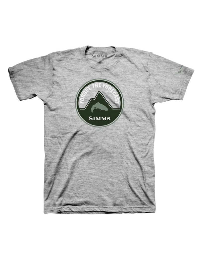 T-SHIRT SIMMS FORGET GREY