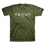 T-SHIRT REEL TROUT MILITARY