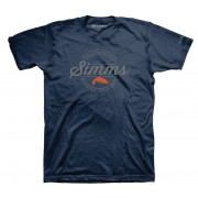 TEE SHIRT SIMMS AUTHENTIC NAVY
