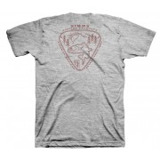 T-SHIRT SIMMS TROUT PASSION GREY