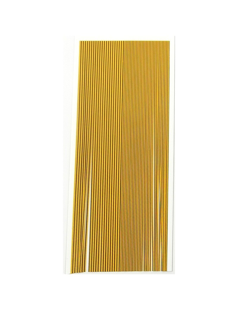 Quills synthétiques golden olive