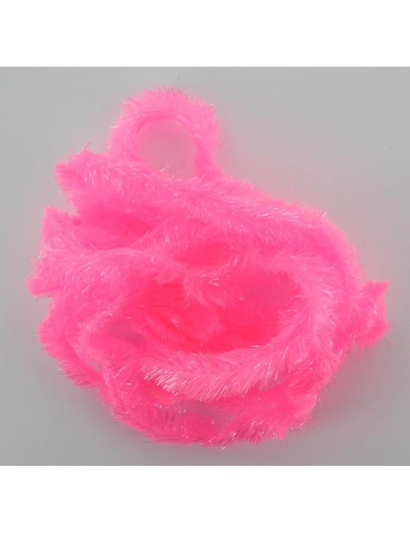 Chenille blob rose fluo