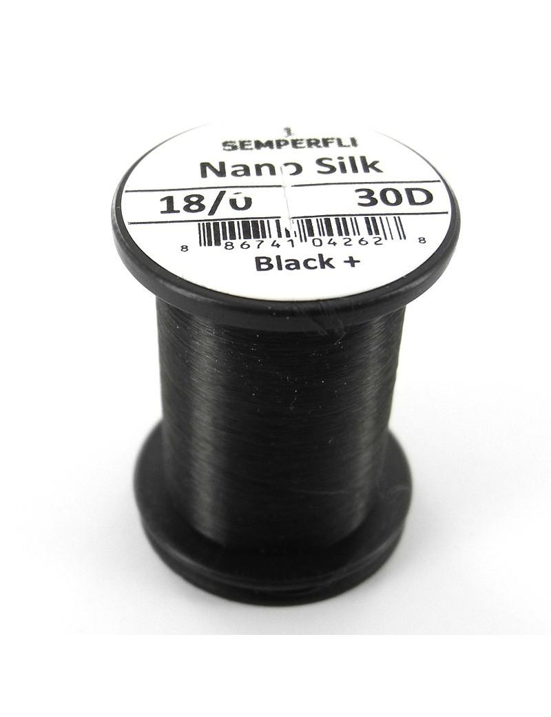 Semperfli nano silk 18/0 noir