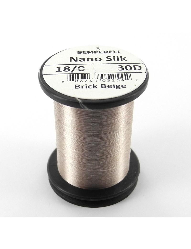 Semperfli nano silk 18/0 beige
