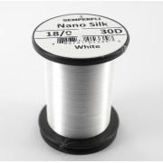 Semperfli nano silk 18/0 blanc