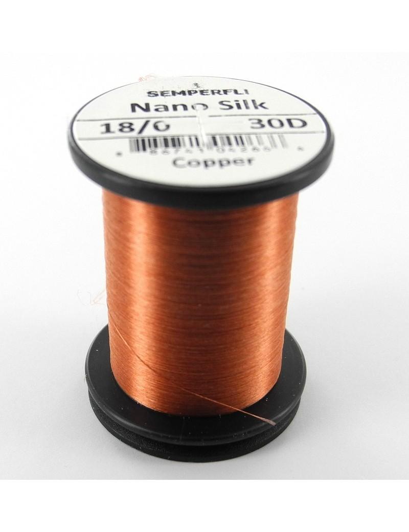Semperfli nano silk 18/0 copper