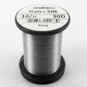Semperfli nano silk 18/0 gris