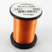Semperfli nano silk 18/0 orange