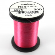 Semperfli nano silk 18/0 rose