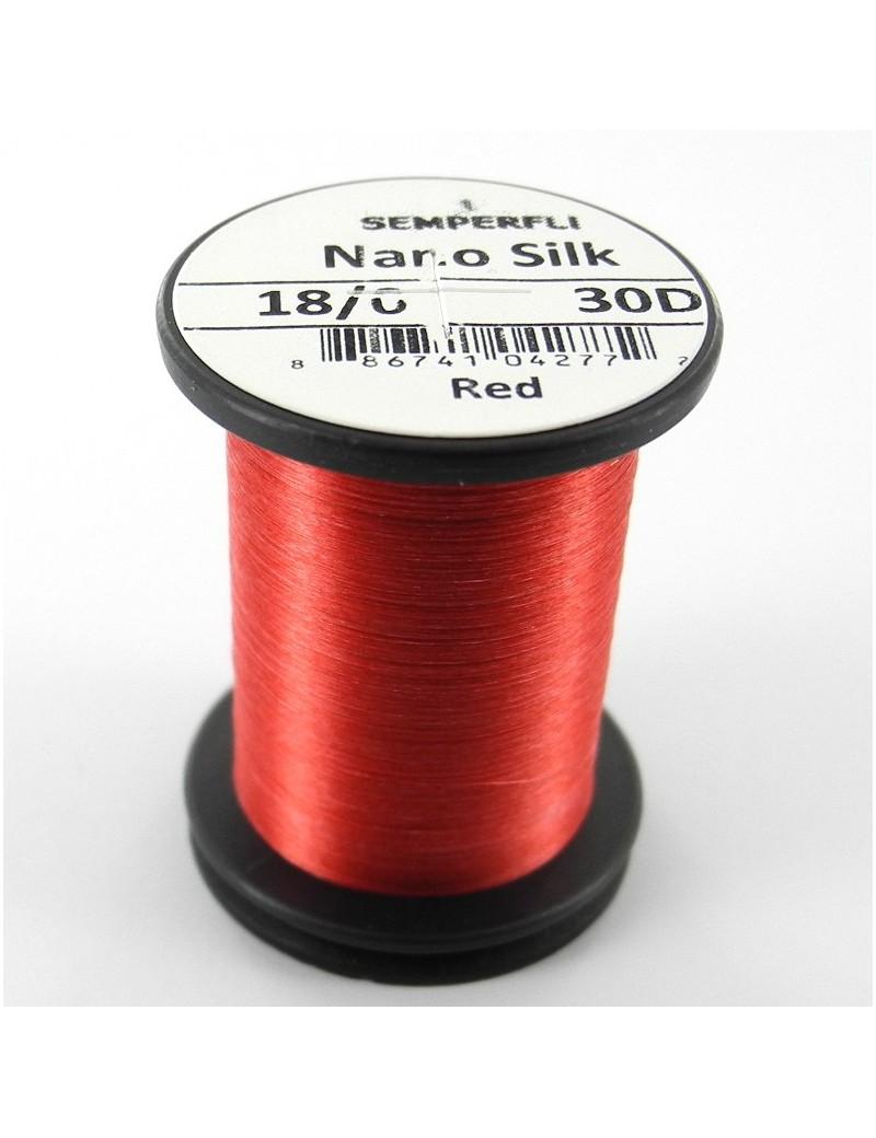 Semperfli nano silk 18/0 rouge