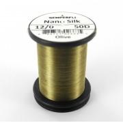 Semperfli nano silk 12/0 olive