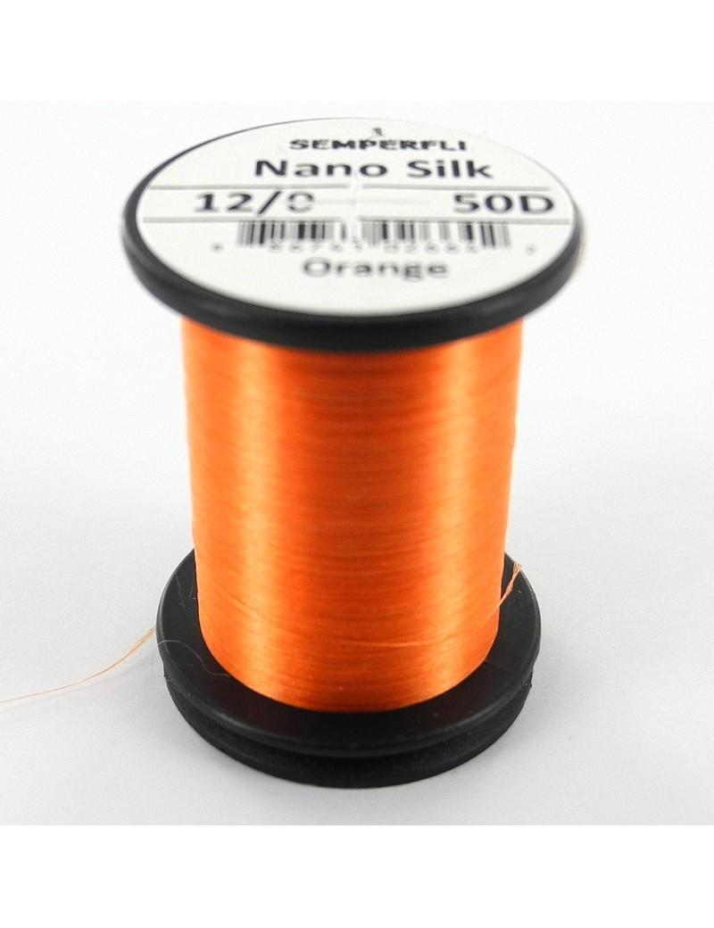 Semperfli nano silk 12/0 orange