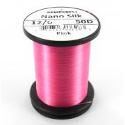 Semperfli nano silk 12/0 rose