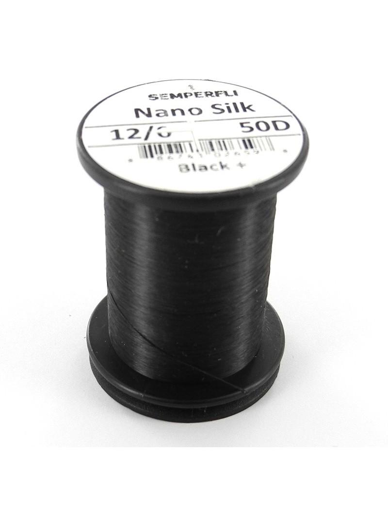 Semperfli nano silk 12/0 noir