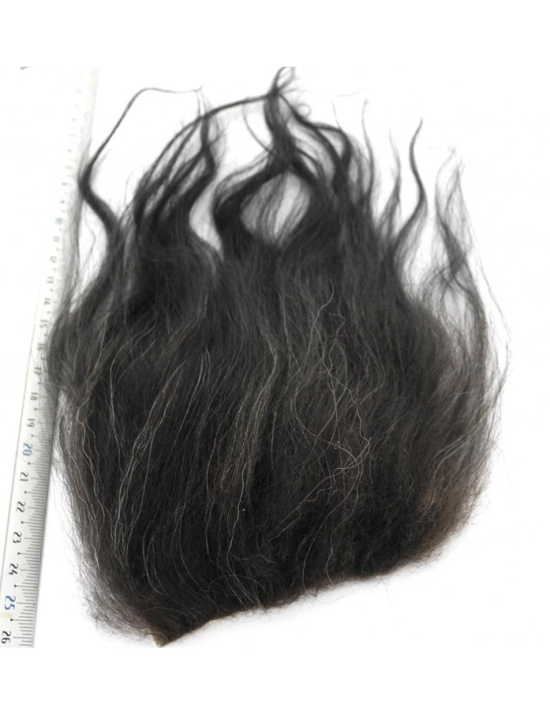 Streamer hair noir