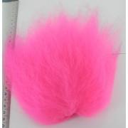 Streamer hair rose fluo