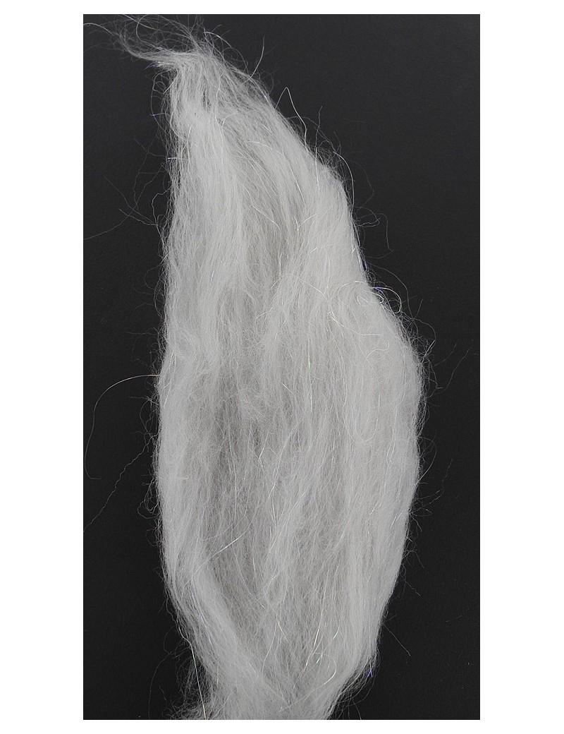 Minnow et baitfish sparkle dub gris clair