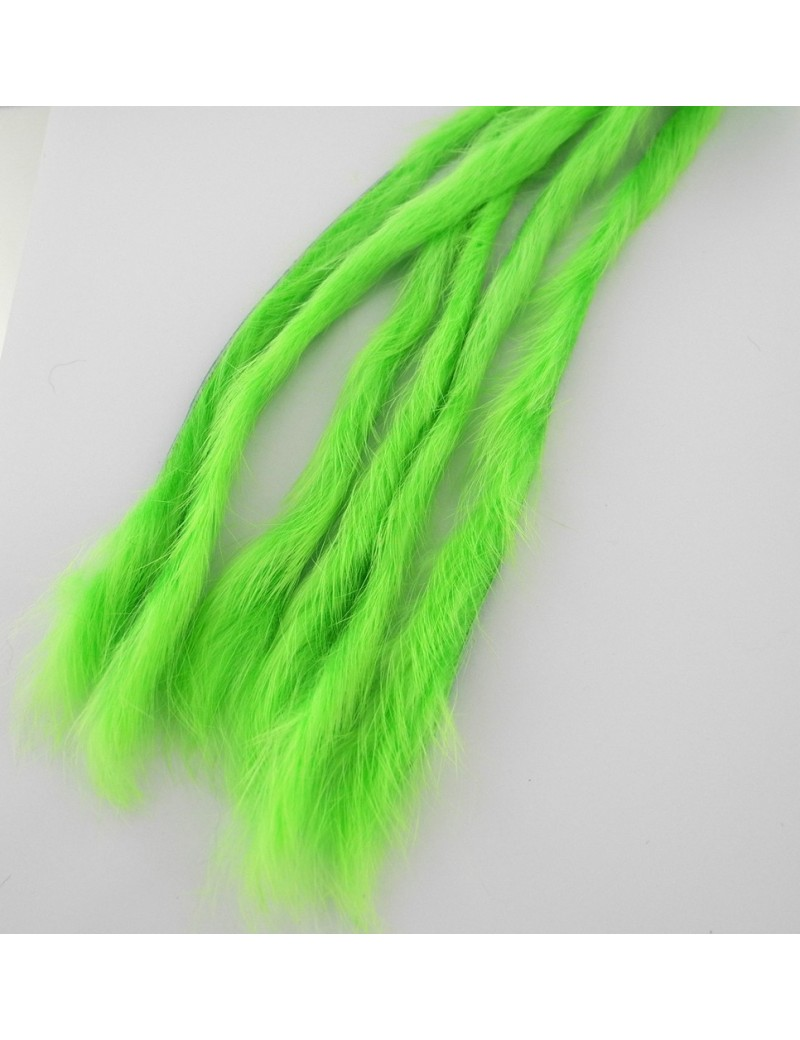Bandelettes lapin Caleri 3mm chartreuse fluo