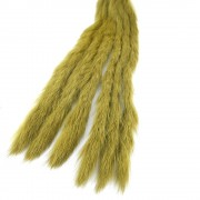 Bandelettes lapin Caleri 3mm golden olive