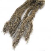 Bandelettes lapin Caleri 3mm gris naturel