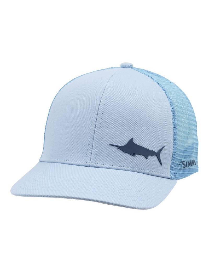 Casquette Payoff Trucker PIKE blue simms