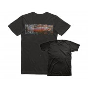 T SHIRT DeYoung Salmon T-shirt noir