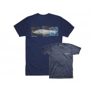 T-SHIRT DeYoung Seatrout Navy Heather