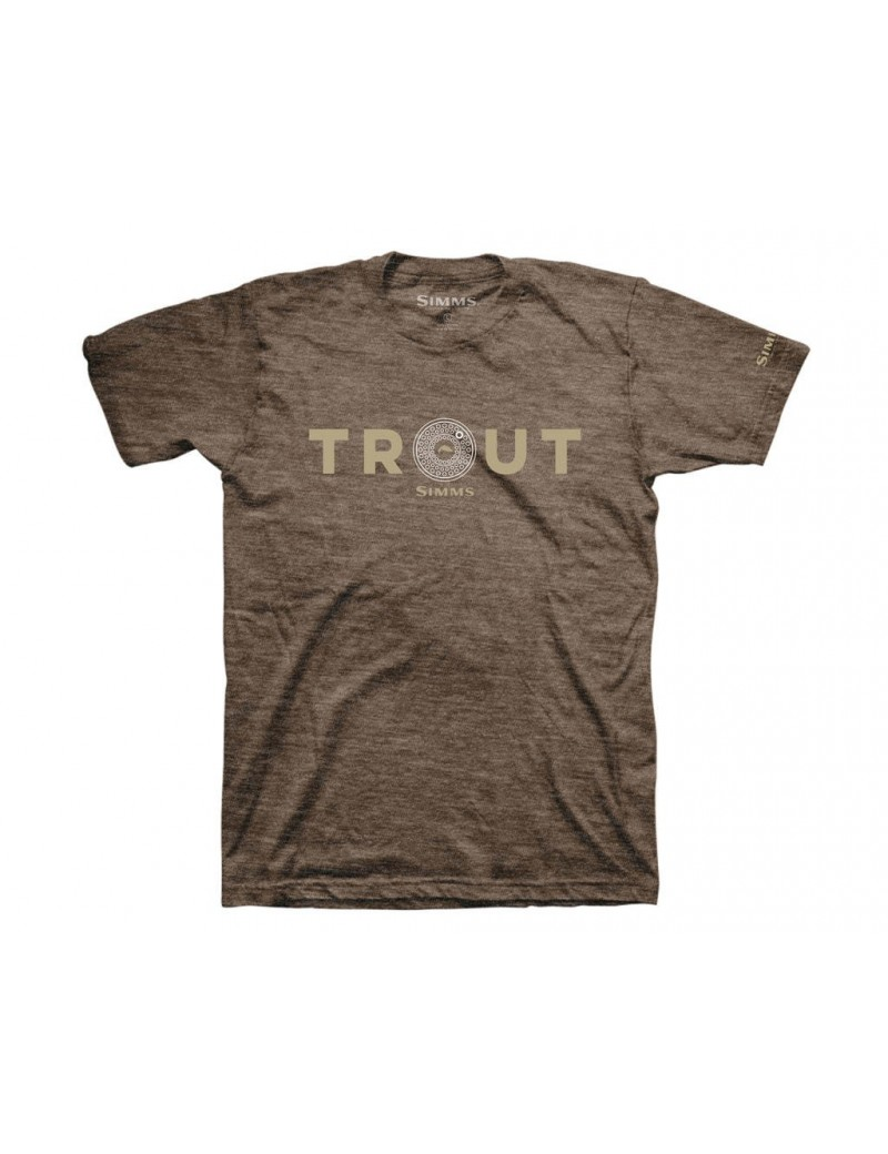 T-shirt SIMMS Reel Trout Heather