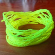 Chenille Eggstasy NANO - Chartreuse FLYBOX