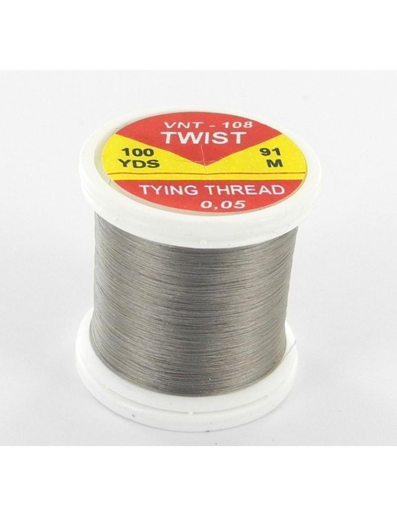 Fil de montage Twist gris-108