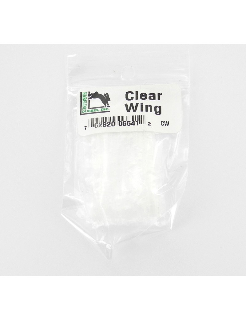Clear wing Hareline