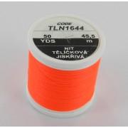 Soie Floss orange fluo-1644